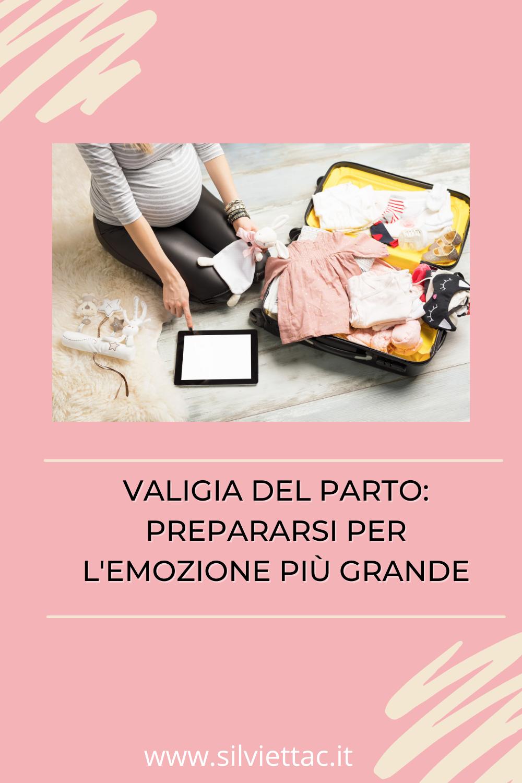 valigia del parto