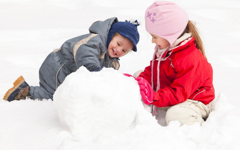 i bambini e il freddo